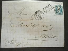 PERIGUEUX GC 2813 6/05/1864 - Marcophilie (Lettres)