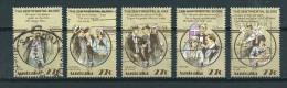 1983 Australia Complete Set Folklore Used/gebruikt/oblitere - 1980-89 Elizabeth II