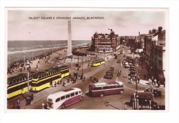 Angleterre Lancashire Blackpool Talbot Square & Princess Parade Tramway - Blackpool