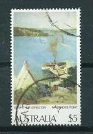 1979 Australia $5 Art,A.Streeton Used/gebruikt/oblitere - 1966-79 Elizabeth II