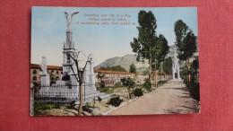 > Bolivia   Cemetery Near City Of La Paz  ======       ======84 - Bolivia
