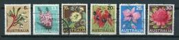 1968 Australia Complete Set Flowers,fleurs,blümen Used/gebruikt/oblitere - 1966-79 Elizabeth II