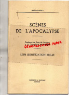 87 - LIMOGES - SCENES DE L' APOCALYPSE - TOMBEAU DE JEAN DE LANGEAC A LA CATHEDRALE- ANDRE BASSET -PHOTOS JOVE- BONTEMPS - Documents Historiques