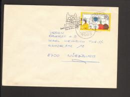 BRD Serienstempel Landesgartenschau Würzburg 1990 Auf Fernbrief Mit Marke D.Internat. Briefmarkenausstellung - Pflanzen Und Botanik