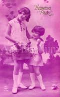 Postcard / CP / Postkaart / Easter / Pâques / Pasen / Children / Ed. PC Paris No 2178 / 1928 - Pasqua