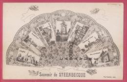 59 - STEENBECQUE---Souvenir--multivues - Other Municipalities