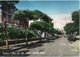 Campania-napoli-ischia Veduta Via A.de Luca Hotel Felix Anni 50/60 - Italia