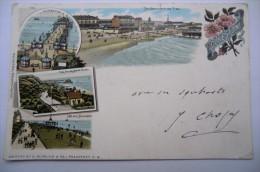 CPA ANGLETERRE FOLKESTONE. 26/01/1901. - Folkestone