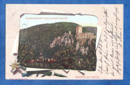 CPA Début 1900 - BADEN Bei WIEN - Rauhenstein Mit Etablissement Sacher - RARE - Baden Bei Wien
