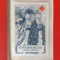 VIGNETTE FONTAINEBLEAU - NO�L 1916.