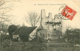 95.CHARS.N°12854.RUINES DU CHATEAU-GAILLARD - Chars