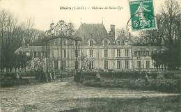 95.CHARS.N°12859.CHATEAU DE SAINT CYR - Chars