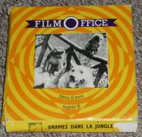 "Rare Bobine Film Super 8 Mm Film Office ""Drame Dans La Jungle"" S8 Super8 Huit S 8 - Bobines De Films: 35mm - 16mm - 9,5+8+S8mm"