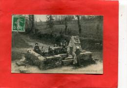 GUINGAMP  1905   LA FONTAINE DE SAINT JEAN DE GRACE   CIRC OUI EDIT - Guingamp