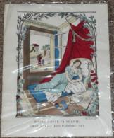 """Rare Image D´Epinal, """"Bonne Sainte Ste Fainéante, Protectrice Des Paresseuses"""", Imagerie Pellerin épinal F Georgin - Autres"""
