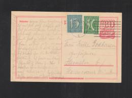 Dt. Reich GSK Mit ZuF 1922 Gelaufen - Deutschland