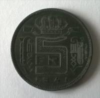 Monnaie - Belgique - 5 Francs 1941 - - 1934-1945: Leopold III