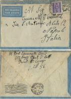 AEROGRAMMA POSTA MILITARE 56 1943 MARETH TUNISIA X NAPOLI TASSATA - Militärpost (MP)