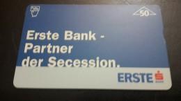 Austria-(f311)-erste Bank-secedsion-(804l)-(50units)-tirage-7.010+1card Prepiad Free - Austria
