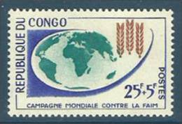 Congo - Brazzaville 1963 ( Freedom From Hunger Issue - Campagne Mondial Contre La Faim) - MNH (**) - ACF - Aktion Gegen Den Hunger