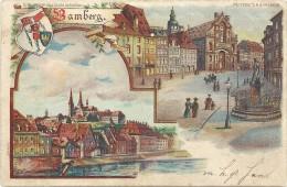 Bamberg ,verlichting Gaat Schijnen - Halt Gegen Das Licht/Durchscheink.
