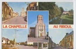 La CHAPELLE Au RIBOUL : Multivues  -éditions JIPE Maison Georget Le Mans - Sonstige Gemeinden