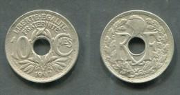 10 CENTIMES LINDAUER 1917 TTB - D. 10 Centesimi