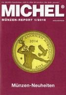 Briefmarken Rundschau MICHEL 1/2016 Neu 6€ New Stamps Of The World Catalogue/ Magacine Of Germany ISBN 978-3-95402-600-5 - Deutsch