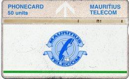 @+ Ile Maurice - LG 50 Units - Logo Bande Verte - 502B.... - Mauritius