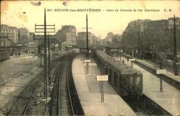 BECON LES BRUYERES GARE DU CHEMIN DE FER ELECTRIQUE - France