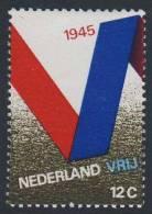"Nederland Netherlands Pays Bas 1970 Mi 941 NVPH 970 ** Flag / Drapeau / Flagge -""V=vrijheid"" - Liberation- 25th Ann 1945 - Periode 1949-1980 (Juliana)"