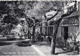 Lazio-roma-santa Marinella Veduta Bar Toto E Via Aurelia Animatissima Anni 50 - Other Cities