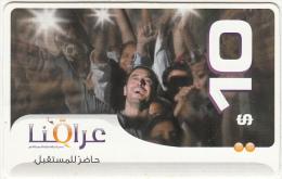 IRAQ(US Based) - People, Iraqna Prepaid Card $10, Exp.date 31/12/09, Used - Irak