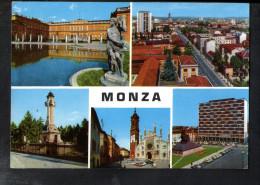 P4580 MONZA - Multipla Con Auto Parcheggiate - Viaggiata 1963 - Monza