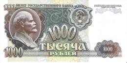 Russia - Pick 250 - 1000 Rubles 1992 - Unc - Russia