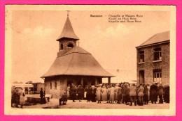 Banneux - Chapelle Et Maison Beco - Kapel En Huis Beco - Kapelle Und Haus - Animée - DESAIX - 1934 - Sprimont