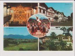 CPM - PAYS BASQUE - AINHOA - Multivues - Intérieur De L'église Grande Rue Vue Générale Maison Basque - Folklore Costume - Ainhoa