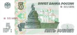 Russia - Pick 267 - 5 Rubles 1997 - Unc - Russie