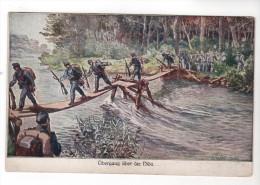 Nr. 2562,  K.u.K.  Übergang über Die Nida - Weltkrieg 1914-18