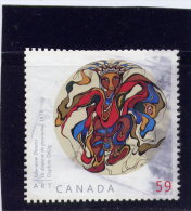 CANADA 2011, USED,  #2436,     DAPHNE ODJIG. PAINTER.. - 1952-.... Règne D'Elizabeth II