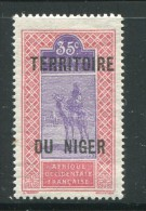 NIGER- Y&T N°10- Neuf Avec Charnière * - Níger (1921-1944)