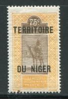 NIGER- Y&T N°14- Neuf Avec Charnière * - Niger (1921-1944)