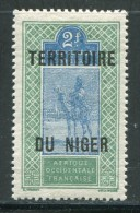 NIGER- Y&T N°16- Neuf Avec Charnière * - Níger (1921-1944)
