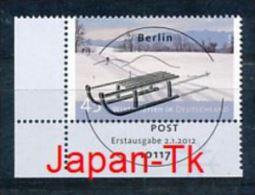 GERMANY Mi.Nr. 2904 Ferien In Deutschland - ESST -BERLIN -Eckrand Unten Links - Used - Gebraucht