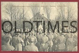 WW1 - LATVIA - KURLAND - FELDGOTTESDIENST BEIM LANDW. INF. REG. 28 - 1915 PC - Latvia