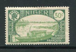 NIGER- Y&T N°37- Neuf Avec Charnière * - Niger (1921-1944)