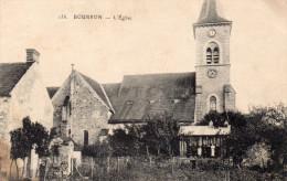 BOURRON   L'EGLISE    CARTE ANIMEE - Frankreich