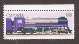 CANADA. 1986  USED  #1121i, CANADIAN LOCOMOTIVE(1925-45), - Oblitérés