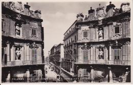 AK Palermo - Quattro Canti Di Citta E Corso Vitt. Emanuele (21219) - Palermo
