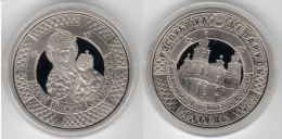 Belarus 1 Rouble 2013 400-year Stay Of The Miraculous Icon Of The Virgin Mary In Budslau - Belarus